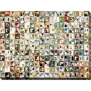 Mark Lawrence 'Tile Art #3 2013' Giclee Print Canvas Wall Art