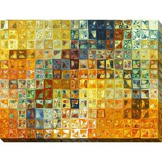 Mark Lawrence 'Tile Art #6 2012' Giclee Print Canvas Wall Art