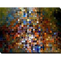 Mark Lawrence 'TileArt #1 2007' Giclee Print Canvas Wall Art