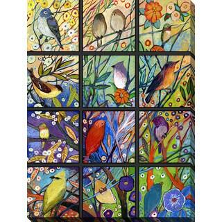 Jennifer Lommers '13 Birds' Giclee Print Canvas Wall Art