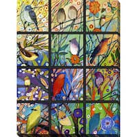 Jennifer Lommers '13 Birds' Giclee Print Canvas Wall Art