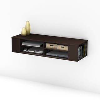 South Shore City Life Wall Mounted Media Console
