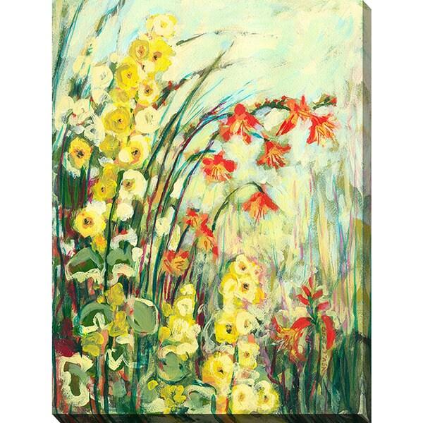 Shop Jennifer Lommers \'My Secret Garden\' Giclee Print Canvas Wall ...