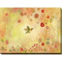 Jennifer Lommers 'Returning To Fairyland' Giclee Print Canvas Wall Art