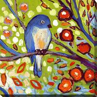 Jennifer Lommers 'Bird I' Giclee Print Canvas Wall Art