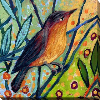 Shop Jennifer Lommers Bird Ii Giclee Print Canvas Wall