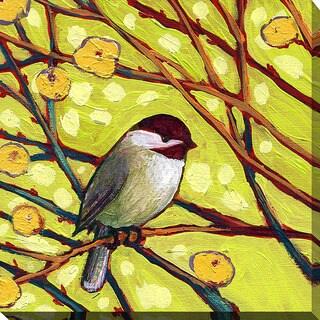 Jennifer Lommers 'Bird V' Giclee Print Canvas Wall Art