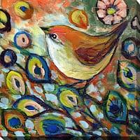 Jennifer Lommers 'Bird XX' Giclee Print Canvas Wall Art