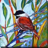 Jennifer Lommers 'Bird XVI' Giclee Print Canvas Wall Art