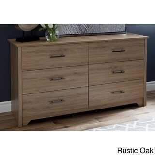 South Shore Fusion Dresser (Option: rustic oak - Beige)