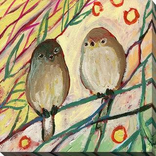 Jennifer Lommers 'Bird XXIV' Giclee Print Canvas Wall Art