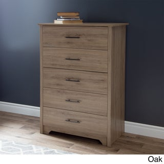 South Shore Fusion 5-drawer Chest (Option: Beige - N/A)