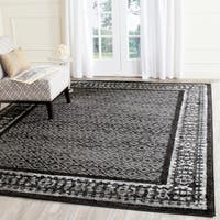 Shop Safavieh Hand Woven Moroccan Reversible Dhurrie Black