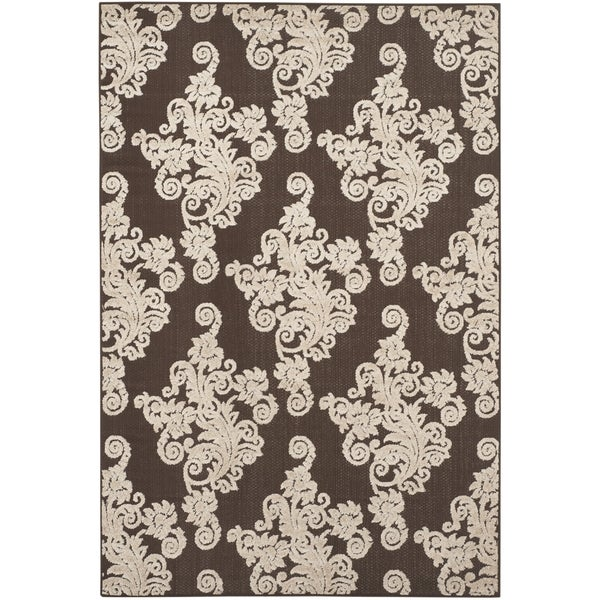 Safavieh Cottage Brown/ Beige Rug - 6'7 x 9'6
