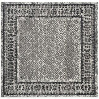 Safavieh Adirondack Vintage Ivory/ Silver Rug (6' Square)