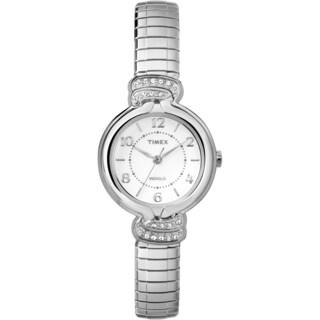 Timex Women's TW2P611009J Anna Avenue Silver-Tone Watch