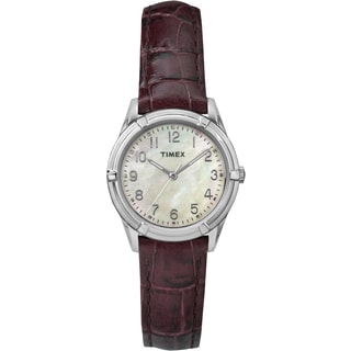 Timex Women's TW2P763009J Easton Avenue Mother of Pearl Watch