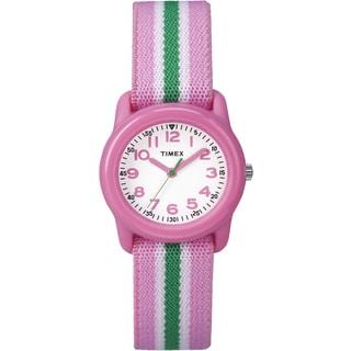Timex Girls TW7C059009J Kids' Pink Stripe Watch