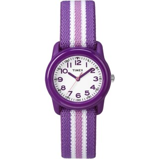 Timex Girls TW7C061009 Purple Strap Analog Watch