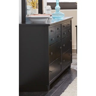 Diego Black Finish Dresser