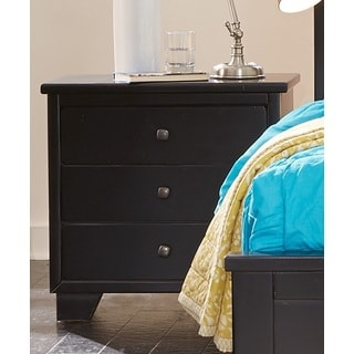 Diego Black Finish Nightstand
