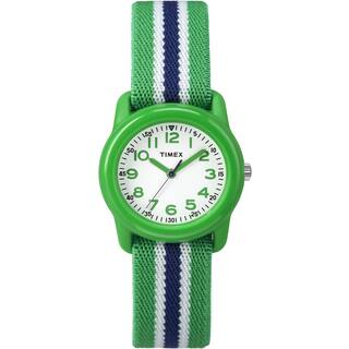 Timex Kids TW7C060009J Green Stripe Analog Watch|https://ak1.ostkcdn.com/images/products/10273532/P17389949.jpg?impolicy=medium