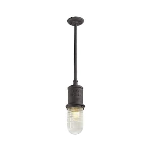 Troy Lighting Dock Street 1-light Medium Hanger - Rust