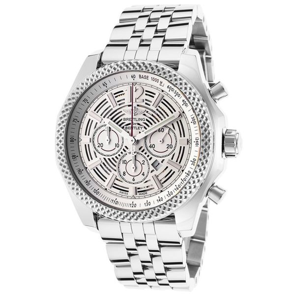 Breitling Stainless Steel Bentley Automatic Wristwatch Ref: Shop Breitling Men's A4139021-G795 'Bentley Barnato 42