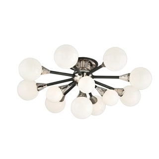 Troy Lighting Nebula 13-light Semi Flush