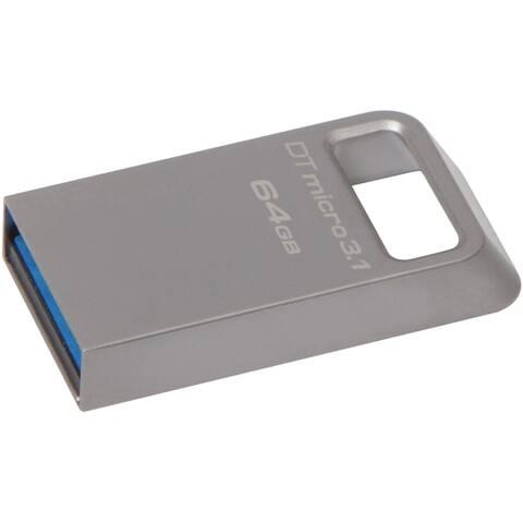 Kingston 64GB DataTraveler Micro 3.1 USB 3.1 Flash Drive