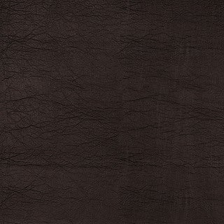 G390 Dark Brown Leather Grain Faux Leather Upholstery