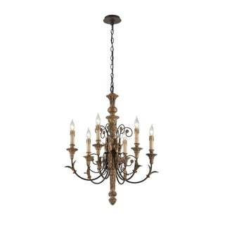 Troy Lighting Luxembourg 6-light Medium Chandelier