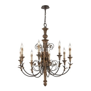 Troy Lighting Luxembourg 8-light Large Chandelier