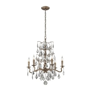 Troy Lighting Siena 6-light Medium Chandelier