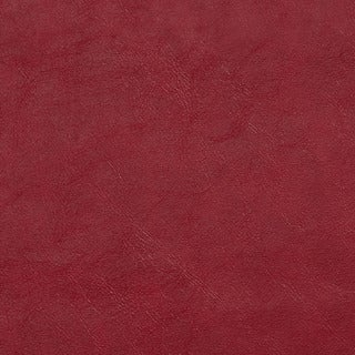 G402 Red Distressed Breathable Leather Look and Feel Upholstery
