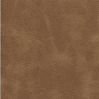 Camel Matte Distressed Breathable Leather Look and Feel Upholstery