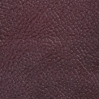 Dark Burgundy Pebbled Breathable Leather Look and Feel Upholstery