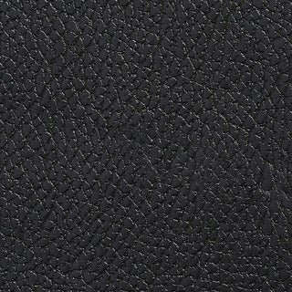 G417 Black Pebbled Breathable Leather Look and Feel Upholstery