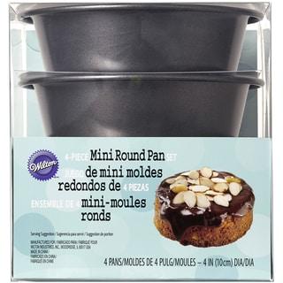 Mini Round Pans In Pet Box 4pcs