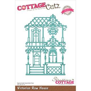 CottageCutz Elites Die Victorian Row House 3.5inX5in