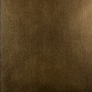 G536 Shiny Copper Brown Recycled Bonded Leather Upholstery