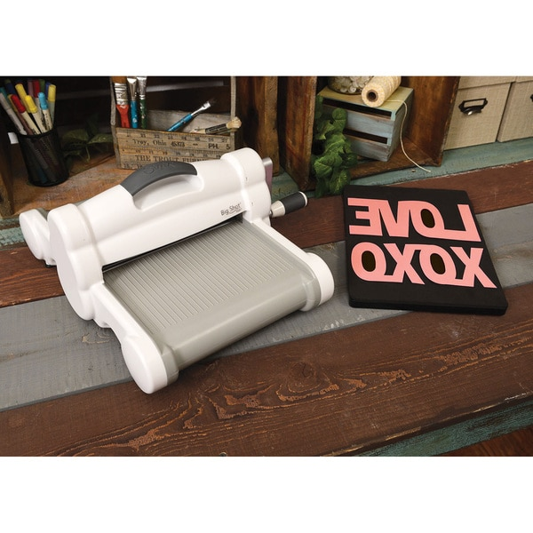 Shop sizzix big shot plus white embossing and die cutting for Die cutting machines for crafts