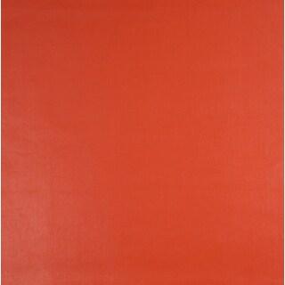 G266 Salmon Orange Leather Look Upholstery Polyurethane Faux Leather Upholstery
