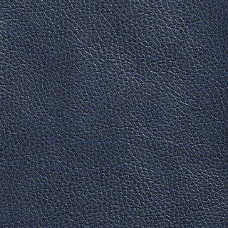 G433 Navy Blue Breathable Leather Look and Feel Upholstery