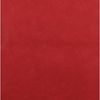 G562 Red Upholstery Grade Recycled Bonded Leather