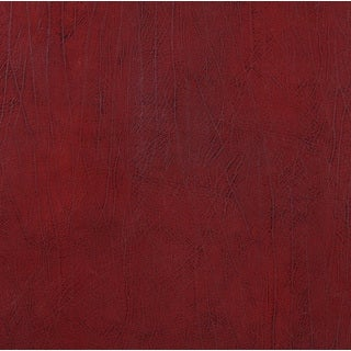 G580 Dark Red Upholstery Grade Recycled Bonded Leather