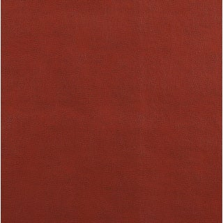 G584 Adobe Red Upholstery Grade Recycled Bonded Leather