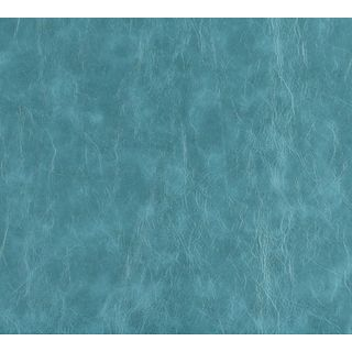 G628 Teal Distressed Leather Upholstery Recycled Bonded Leather