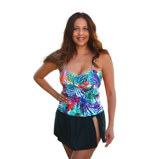 CaCelin Women's Tropical Paradise Skirtini