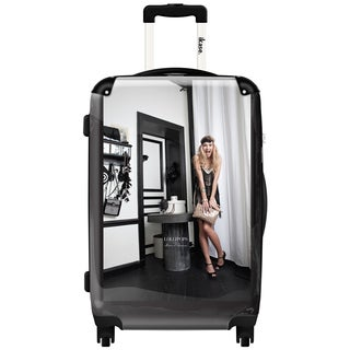 iKase Art by Lollipops,Carry-on 20-inch,Hardside, Spinner Suitcase